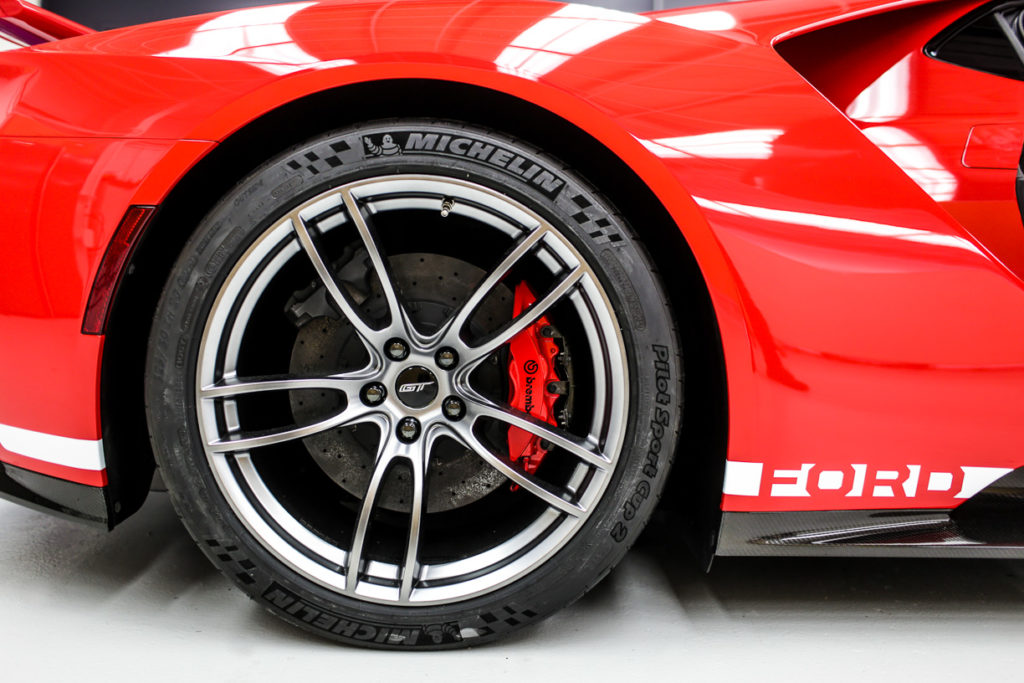 2018 ford job 1. Interesting Job The New Limited Edition Ford GT U002767 Heritage Livery Will Consist Of A  Glossfinish Race Red Paint Job Accented By White Stripes And Exposed Carbon Which  For 2018 Ford 1
